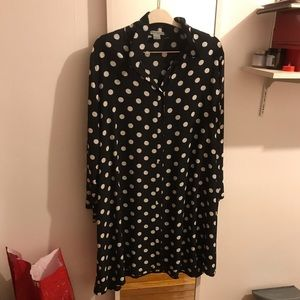 New Alice & You Polka Dot Shirtdress. Sz 20